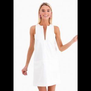Emerson Fry White Cut Out Mod Dress